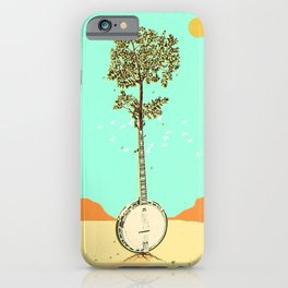 BANJO TREE iPhone Case