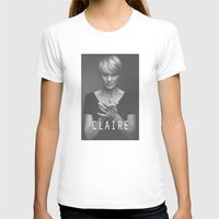 house of cards T-shirts featuring Claire Underwood / House of Cards by Earl of Grey