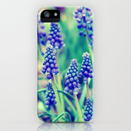 A Stranger Shade Of Blue iPhone Case
