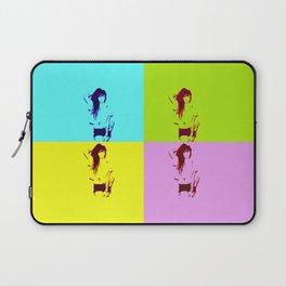 Synth-Pop Art Laptop Sleeve