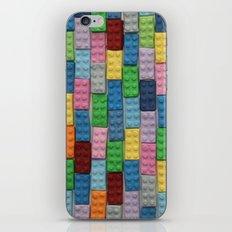 Bricks Zoom iPhone & iPod Skin