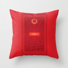 Burn with Me (doctor who) Throw Pillow
