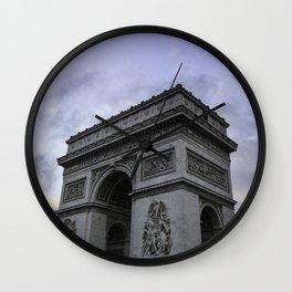 The Arc de Triomphe de l'Etoile Wall Clock