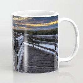 Farmington Bay Sunset - Great Salt Lake Coffee Mug