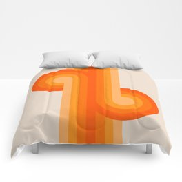 Creamsicle Knots Comforters