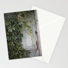 Old wooden door Stationery Cards