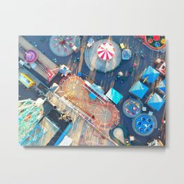 Fairground Metal Print