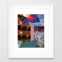 theatre Framed Art Prints featuring THEATRE by Kelci Archibald