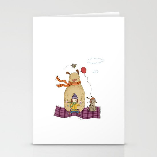 FLYING CARPET Stationery Cards
