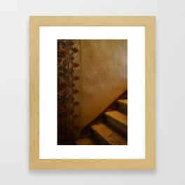 Vintage Mexican Decor Welcome Home Framed Art Print
