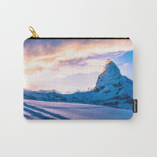 Mountain Peak (Morning Light) Carry-All Pouch