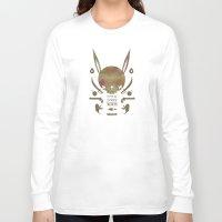 pirates Long Sleeve T-shirts featuring 토끼해적단 TOKKI PIRATES by PAUL PiERROt