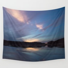Just before the night arrives Wall Tapestry