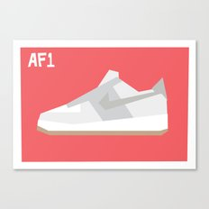 Air Force Minimalist Canvas Print