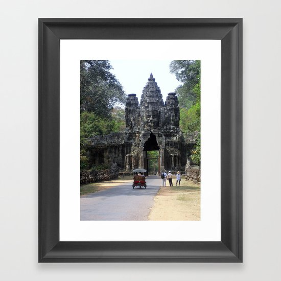 Angkor What? Framed Art Print