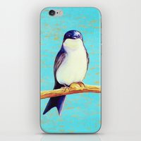 swallow iPhone & iPod Skins featuring Swallow by Pincay