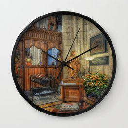Blessed Virgin Mary Wall Clock