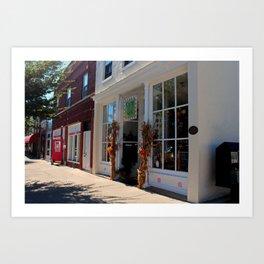 Downtown Perrysburg II Art Print