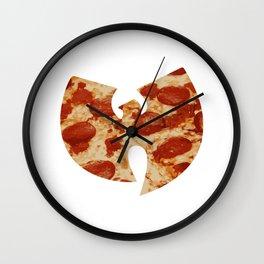 Wu Tang Pizza Wall Clock