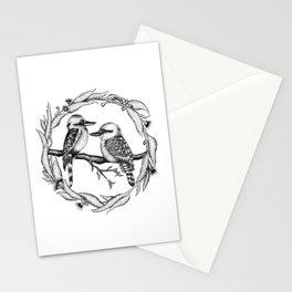 Kookaburra Wreath Stationery Cards