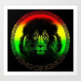 King Of Kings Art Print
