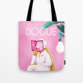 Dogue - Albert Camus Tote Bag