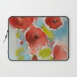 Roses (watercolor) Laptop Sleeve