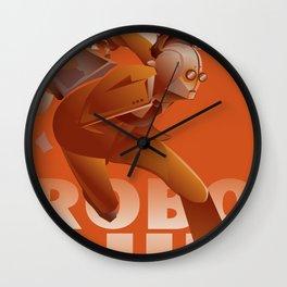 RUN ROBO RUN Wall Clock