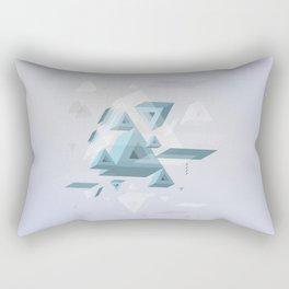 Floating prisms Rectangular Pillow