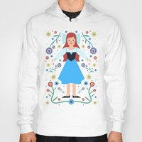 ariel Hoodies featuring Ariel by Carly Watts