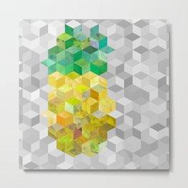 Pineapple! Metal Print