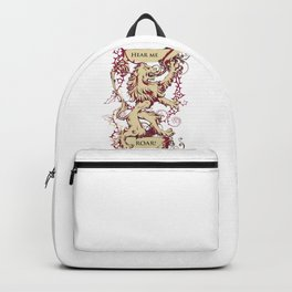 Lion - Hear me roar Backpack