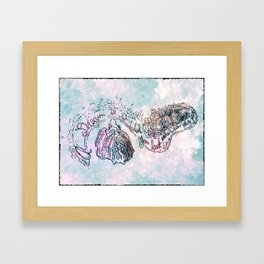 A dream is a wish your heart makes 1 Framed Art Print