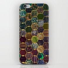 honeycomb mermaid scales iPhone Skin