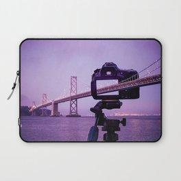 Bay Bridge Capture Laptop Sleeve