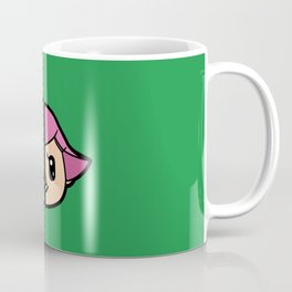 Old & New Animal Crossing Villager Female Coffee Mug
