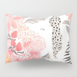 Stalking Leopard Pillow Sham