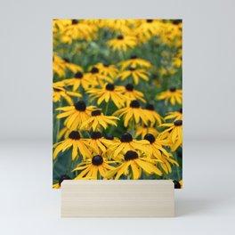 sea of flowers Mini Art Print
