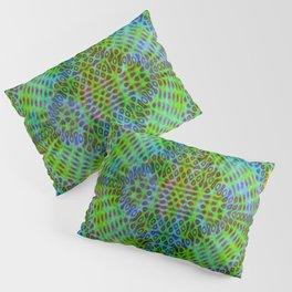 Colorful diffraction Pillow Sham