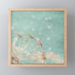 Candy Wheel Framed Mini Art Print