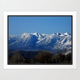 View of the Sierra Nevada Art Print
