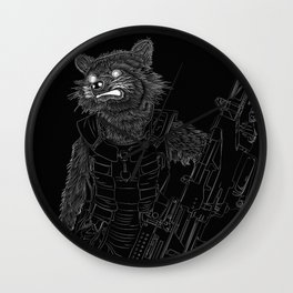 Rocket Raccoon, GuardiansOfTheGalaxy Wall Clock