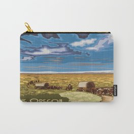 Vintage poster - The Oregon Trail Carry-All Pouch