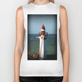 Lady Bay Lighthouse Biker Tank