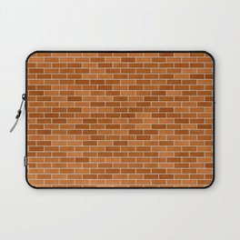 Brown Brick wall Laptop Sleeve