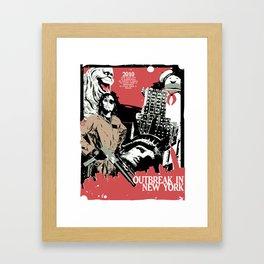 Outbreak in New York Framed Art Print