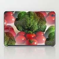 vegetables iPad Cases featuring Healthy Vegetables by Art-Motiva