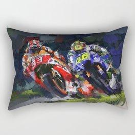 Motogp Champion Rectangular Pillow