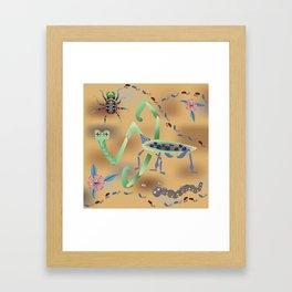 Call of the Mantis Framed Art Print