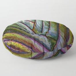 Costa Rican green Floor Pillow